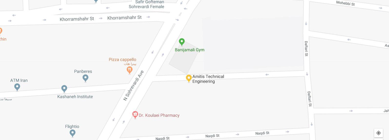 Amitis company location
